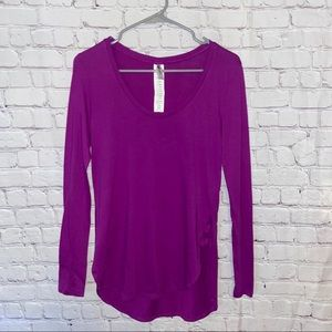 Fabletics long sleeve top size extra small